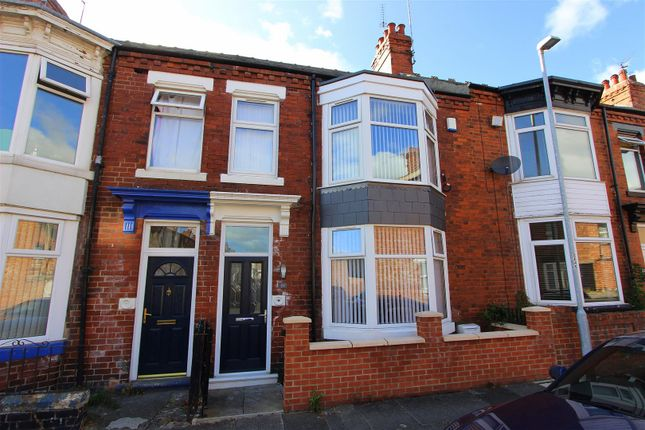 Thumbnail Terraced house to rent in Belvedere Road, Darlington