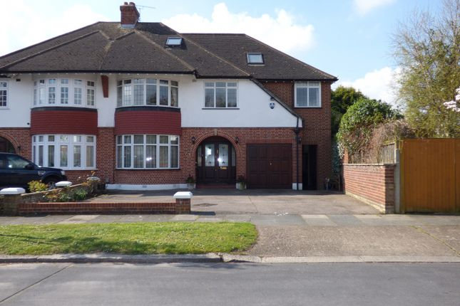 Thumbnail Semi-detached house for sale in Leys Gardens, Cockfosters