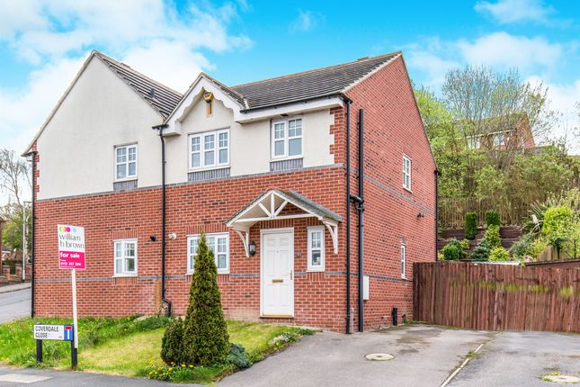 Thumbnail Semi-detached house for sale in Coverdale Close, Leeds