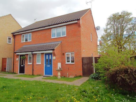Thumbnail Semi-detached house for sale in Little Plumstead, Norwich, Norfolk