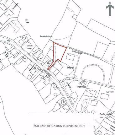 The Plot of High Street, Kingsley, Stoke-On-Trent ST10