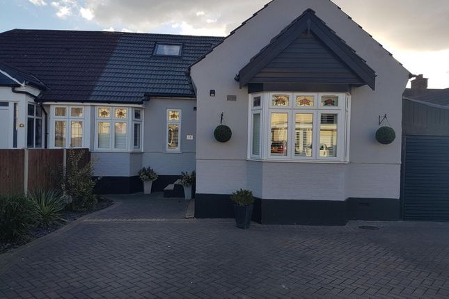 Thumbnail Semi-detached bungalow for sale in Park Drive, Romford, London