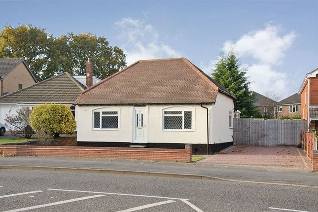 Thumbnail Detached bungalow for sale in Yemscroft Flats, Lichfield Road, Rushall, Walsall