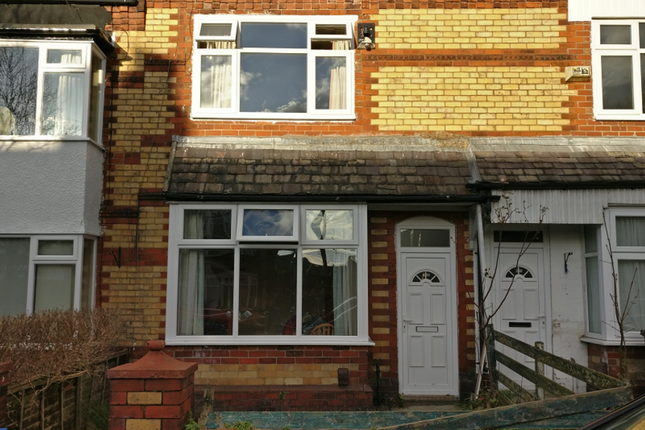 Thumbnail Terraced house to rent in Cheltenham Road, Chorlton, Manchester
