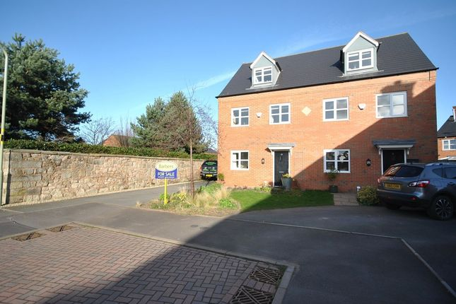 Thumbnail Town house for sale in Dickins Meadow, Wem, Shrewsbury
