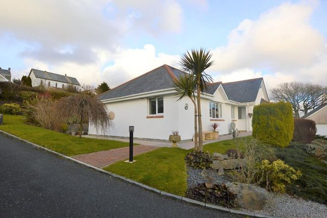 Thumbnail Detached bungalow for sale in Rosemary Close, Wotter, Plymouth