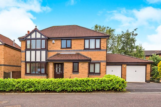 Thumbnail Detached house for sale in The Gables, Cottam, Preston