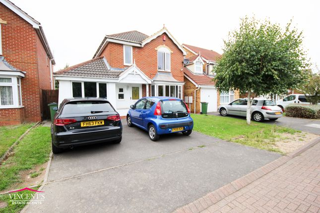 Thumbnail Detached house for sale in Cooke Close, Thorpe Astley