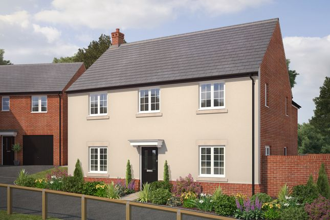 """Thumbnail Detached house for sale in """"The Glinton"""" at Bryony Road, Hamilton, Leicester"""