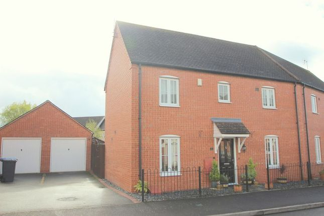Thumbnail Semi-detached house for sale in Yeats Road, Stratford-Upon-Avon