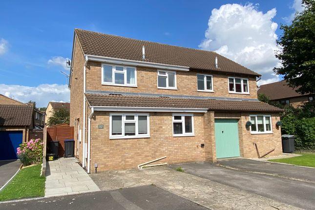 Thumbnail Semi-detached house to rent in Devon Drive, Westbury