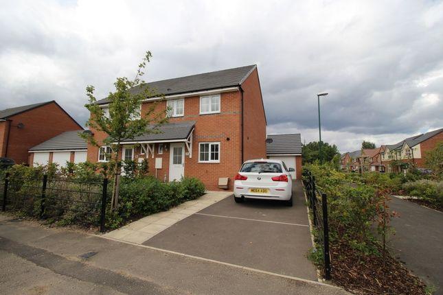 Thumbnail Semi-detached house to rent in Monkton Lane, Hebburn