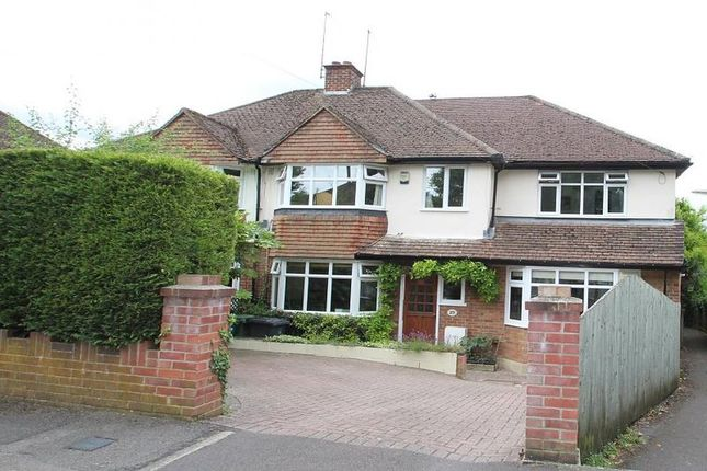 Thumbnail Semi-detached house to rent in Bramblys Drive, Basingstoke