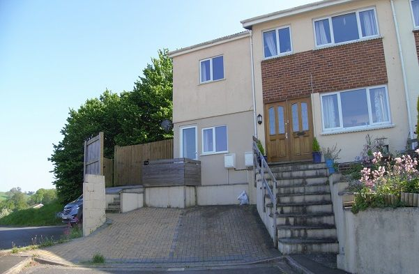 Thumbnail End terrace house to rent in Foxley Crescent, Bradley Barton