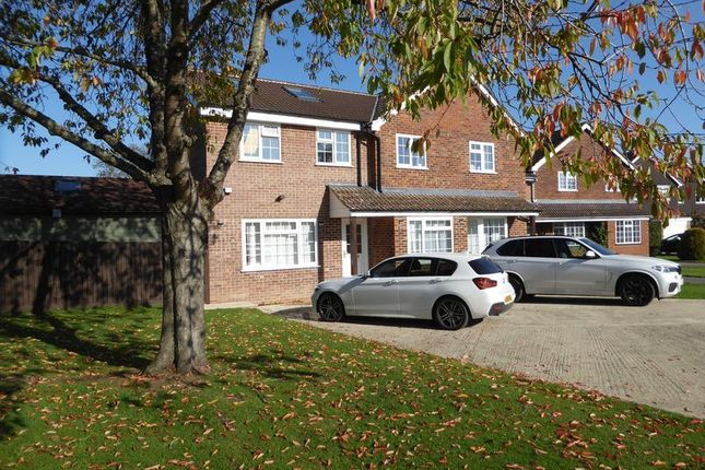 Thumbnail Detached house for sale in Rectory Close, Marsh Gibbon, Bicester