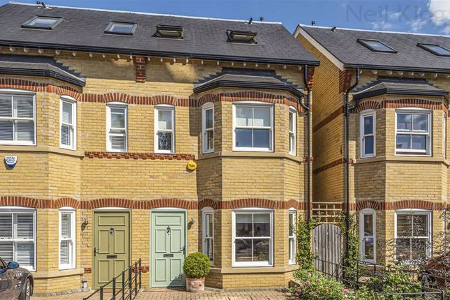 Thumbnail Semi-detached house for sale in Carnarvon Terrace, South Woodford, London