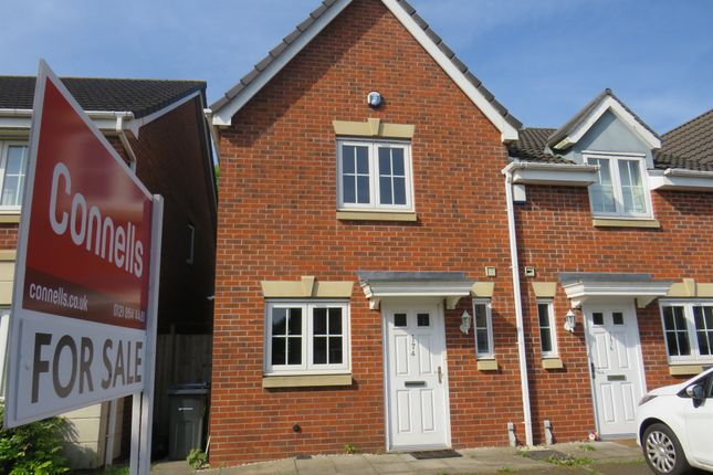 Thumbnail Semi-detached house for sale in Dovedale Road, Perry Common, Birmingham