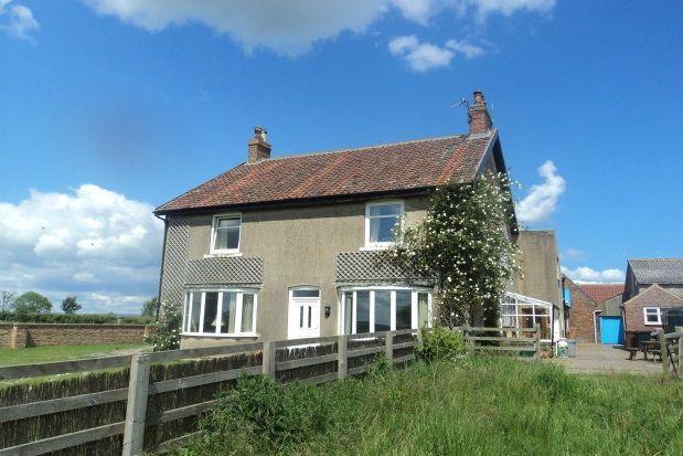 Thumbnail Farmhouse to rent in Kirby Misperton, Malton