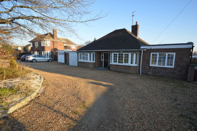 Thumbnail Bungalow to rent in Coates Road, Whittlesey, Peterborough