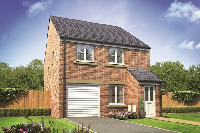"Thumbnail Detached house for sale in ""The Chatsworth "" at Derwen View, Brackla, Bridgend"