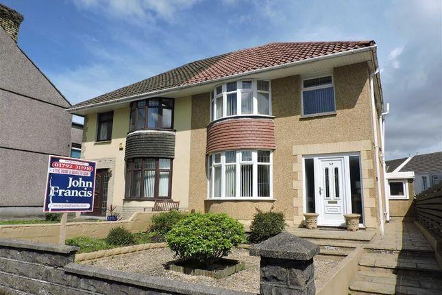 Thumbnail Semi-detached house for sale in Llangyfelach Road, Treboeth, Swansea
