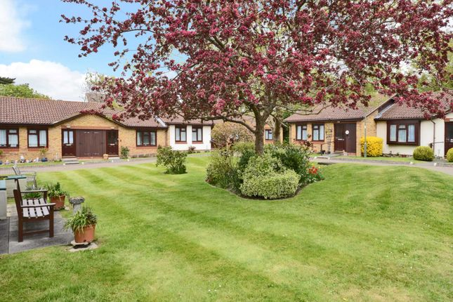 Thumbnail Bungalow for sale in Village Gardens, Ewell, Epsom