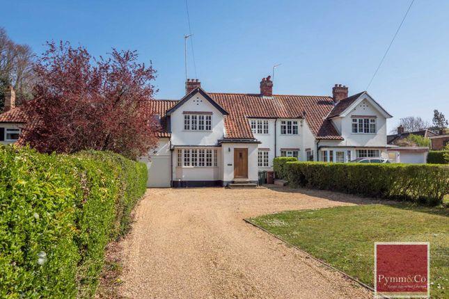 Thumbnail Semi-detached house for sale in Drayton High Road, Hellesdon, Norwich