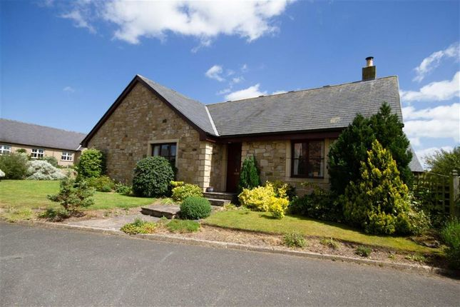 Thumbnail Detached bungalow for sale in Croft Gardens, Crookham, Cornhill-On-Tweed