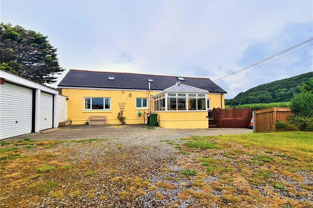Thumbnail Detached bungalow for sale in Clarach, Aberystwyth