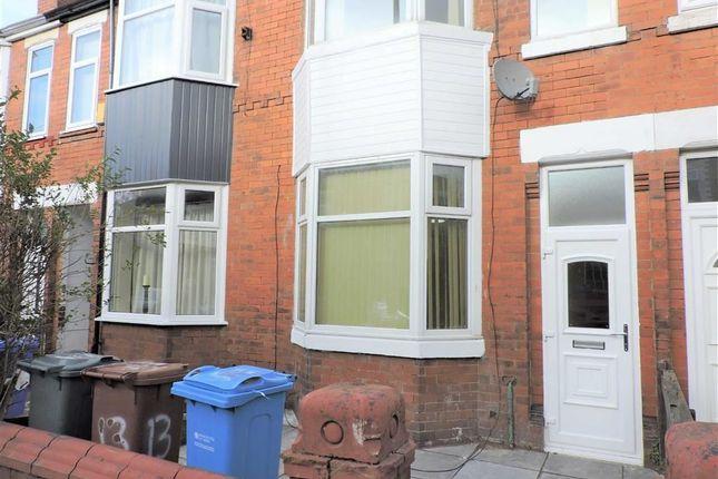 Thumbnail Terraced house for sale in Dorset Road, Levenshulme, Manchester