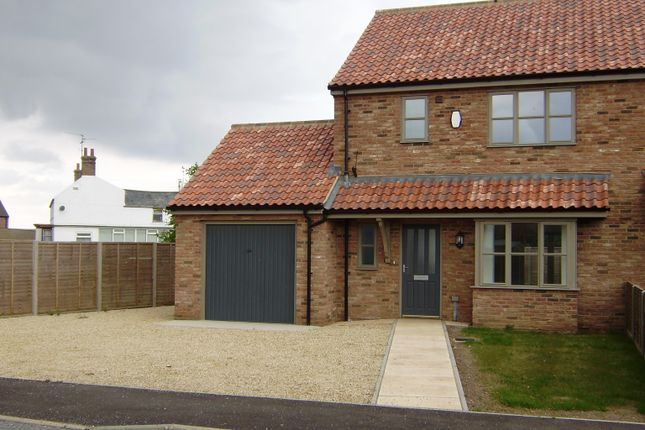 Thumbnail Semi-detached house to rent in Wisbech Road, Walpole St. Andrew, Wisbech