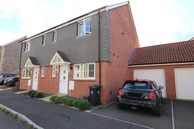 Thumbnail Semi-detached house to rent in Higher Meadow, Cranbrook, Exeter