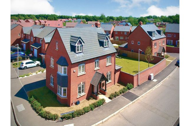 Thumbnail Detached house for sale in Sidney Wolfe Close, Rugby