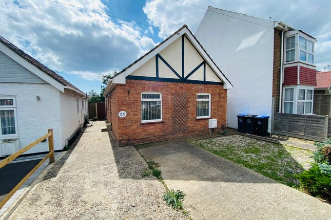 Thumbnail Bungalow to rent in New Road, Worthing