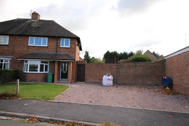Thumbnail Semi-detached house to rent in Brook Glen Road, Stafford