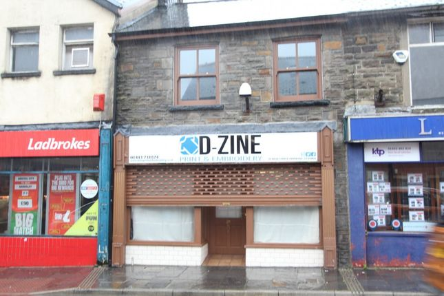 Thumbnail Retail premises for sale in High Street -, Ferndale