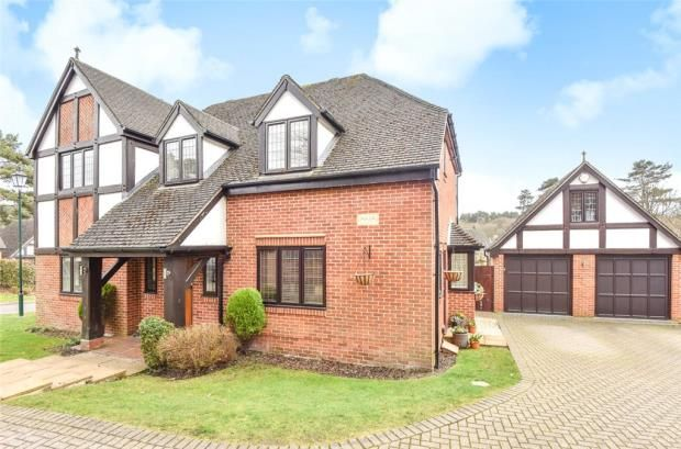 Thumbnail Detached house for sale in The Ridings, Frimley, Camberley