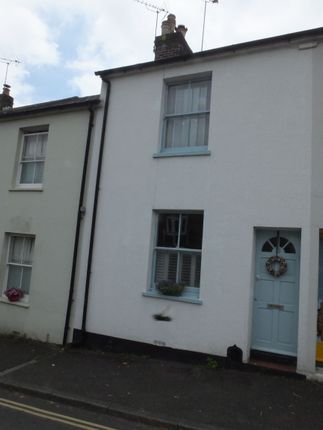 Thumbnail Terraced house to rent in Valence Road, Lewes