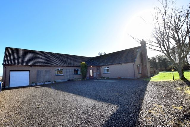 Thumbnail Detached bungalow for sale in Beeches, Church Street, Halkirk