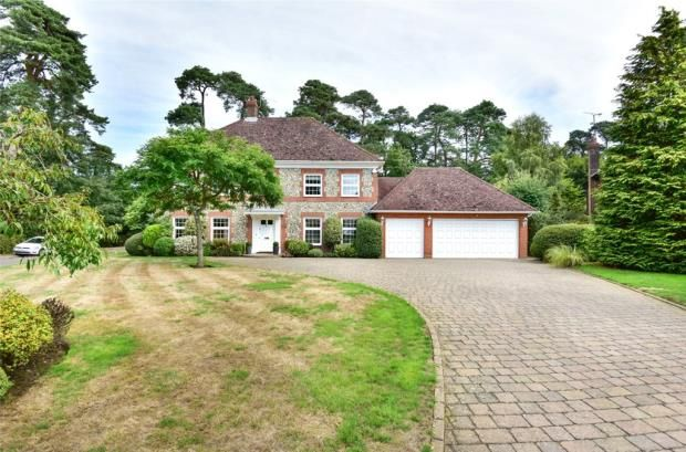 Thumbnail Detached house for sale in Fox Way, Ewshot, Farnham