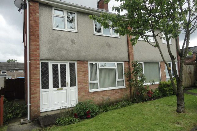 Thumbnail Semi-detached house to rent in Charles Street, Caerphilly