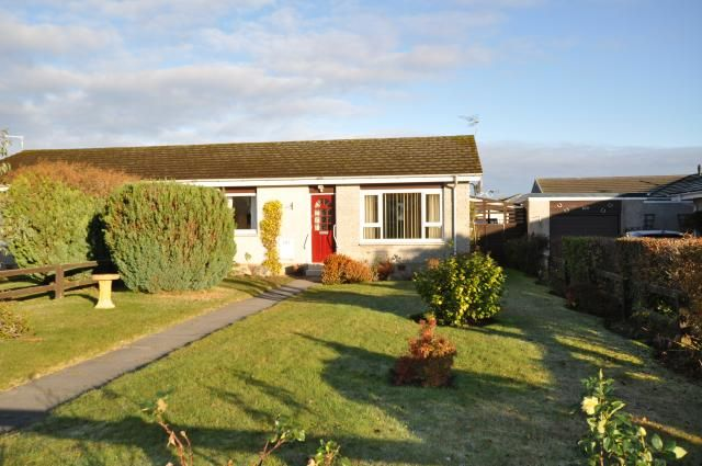 Thumbnail Bungalow for sale in 107 Forbeshill, Forres