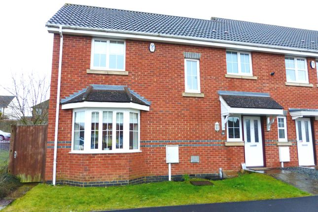 Thumbnail Semi-detached house for sale in Vicarage Road, Rushden
