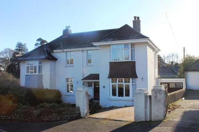 Thumbnail Semi-detached house for sale in Penwinnick Road, St. Austell