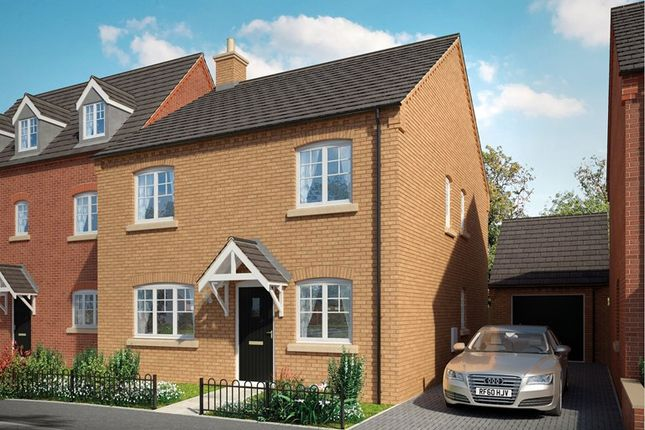 Thumbnail Detached house for sale in Brick Kiln Road, Raunds, Northampton, Northamptonshire