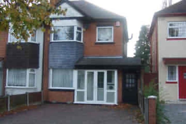 Thumbnail Semi-detached house to rent in Marshall Grove, Birmingham