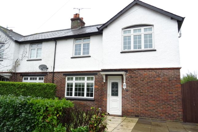 Thumbnail Semi-detached house for sale in St Peters Road, Old Woking