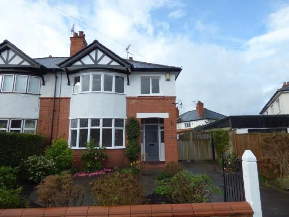 Thumbnail Semi-detached house for sale in Lache Park Avenue, Westminster Park, Chester, Cheshire
