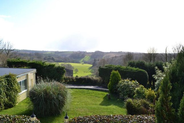 View Over Garden of Morval, Looe, Cornwall PL13