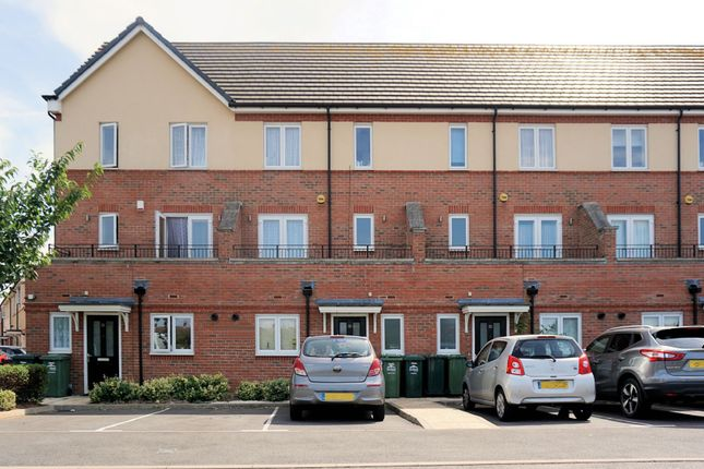 Thumbnail Town house for sale in Longford Way, Staines-Upon-Thames
